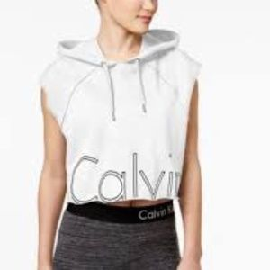 Calvin Klein Performance Cotton Cropped Pullover